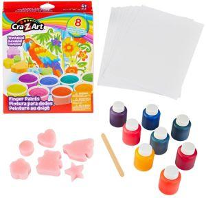 Cra-Z-Art Finger Paint Kit 24pc