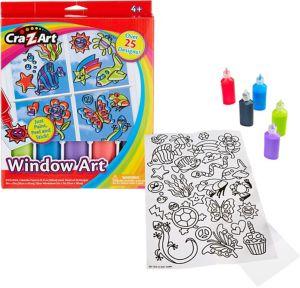 Cra-Z-Art Window Art Kit 8pc