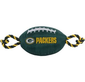 Green Bay Packers Football Dog Toy