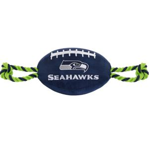 Seattle Seahawks Football Dog Toy