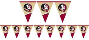 Florida State Seminoles Pennant Banner