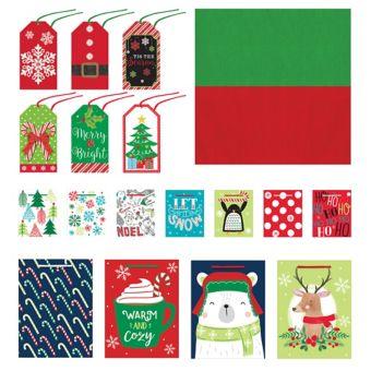 Traditional Christmas Gift Bag Kit