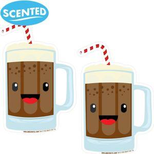 Jumbo Smickers Root Beer Scratch & Sniff Stickers 2ct