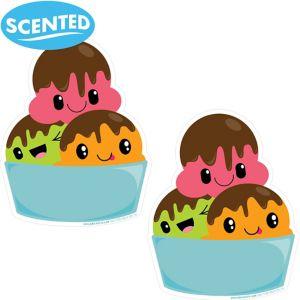 Jumbo Smickers Tutti Frutti Scratch & Sniff Stickers 2ct