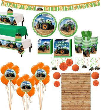 Tractor Tableware Ultimate Kit for 24 Guests