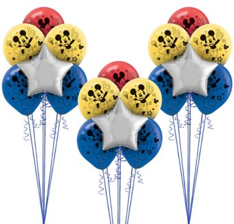 Mickey Mouse Roadster Balloon Kit