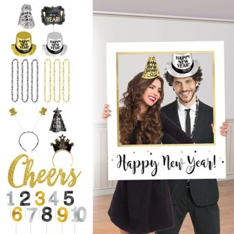 Countdown New Year's Photo Booth Kit