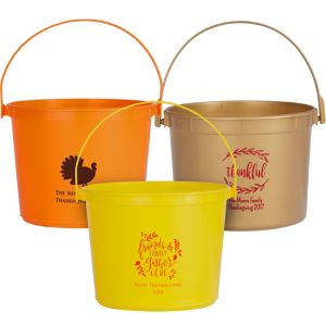 Personalized Thanksgiving Favor Containers