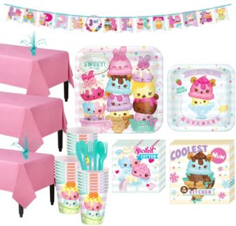 Num Noms Tableware Party Kit for 24 Guests