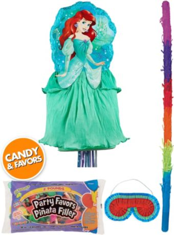 Ariel Pinata Kit with Candy & Favors Deluxe - The Little Mermaid