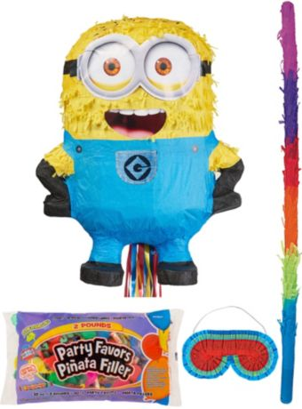 Carl Minion Pinata Kit with Candy & Favors - Despicable Me 2