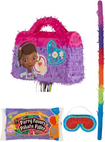 Doctor Bag Pinata Kit with Candy & Favors - Doc McStuffins