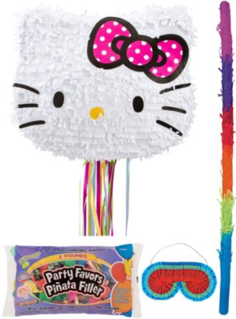 Hello Kitty Pinata Kit with Candy & Favors