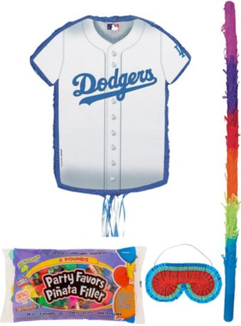 Los Angeles Dodgers Pinata Kit with Candy & Favors