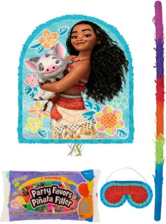 Moana Pinata Kit with Candy & Favors