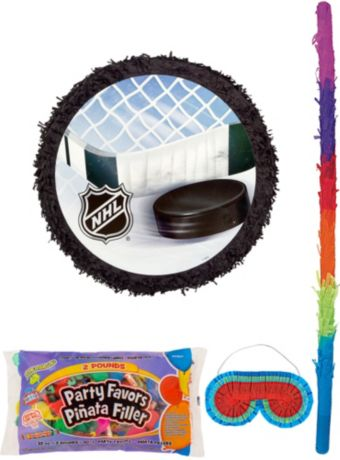 NHL Pinata Kit with Candy & Favors