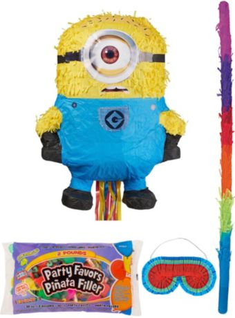 Phil Minion Pinata Kit with Candy & Favors - Despicable Me 2
