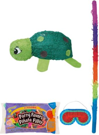 Turtle Pinata Kit with Candy & Favors