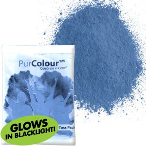 Neon Blue Color Powder