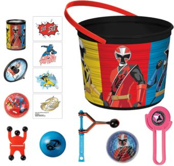 Power Rangers Ninja Steel Ultimate Favor Kit for 8 Guests