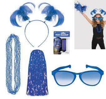 Blue Deluxe Fan Kit