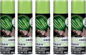Glow in the Dark Hairspray 5ct