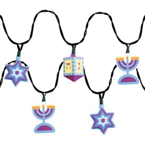 Electric Hanukkah Lights