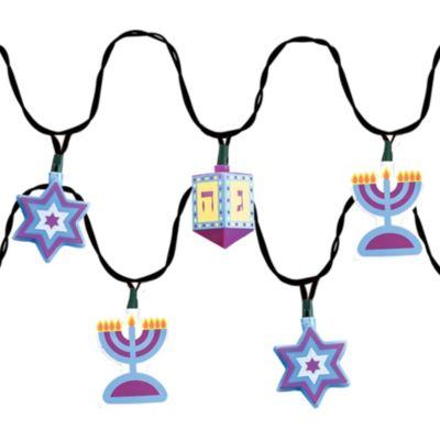 Electric Hanukkah Lights