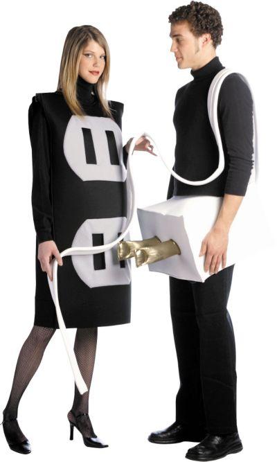 Adult Plug and Socket Costume