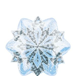 Snowflake Balloon - Prismatic