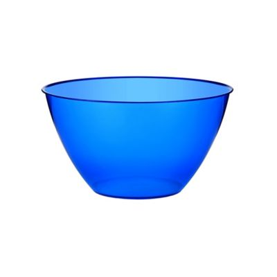 Royal Blue Small Plastic Bowl