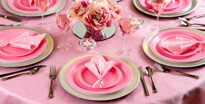 Solid Pink Tableware #4