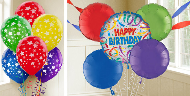 Balloon And Streamer Decoration Ideas Of Party Streamers Birthday Balloons Party City Canada