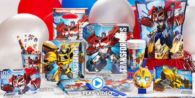 Transformers Party Supplies #3