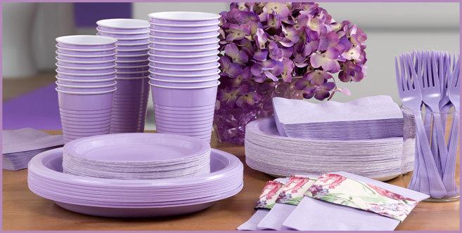 Lavender Tableware #3