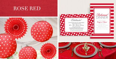 Red Wedding Supplies