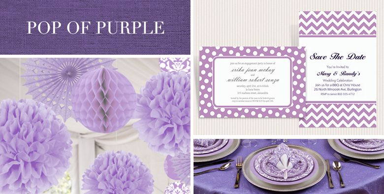 shop by color wedding decorations  party supplies  party city, Baby shower invitation