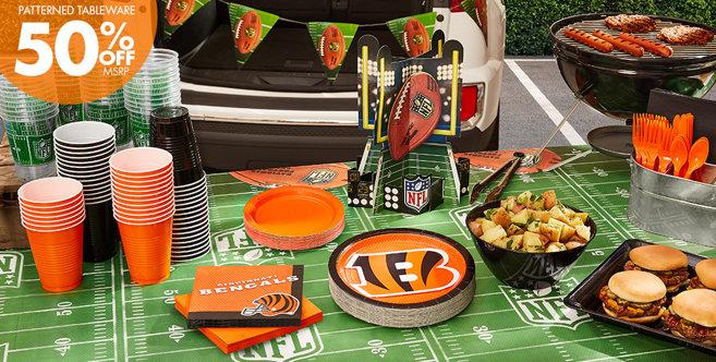 Decorating Ideas > NFL Cincinnati Bengals Party Supplies  Party City ~ 215317_Birthday Party Ideas Cincinnati