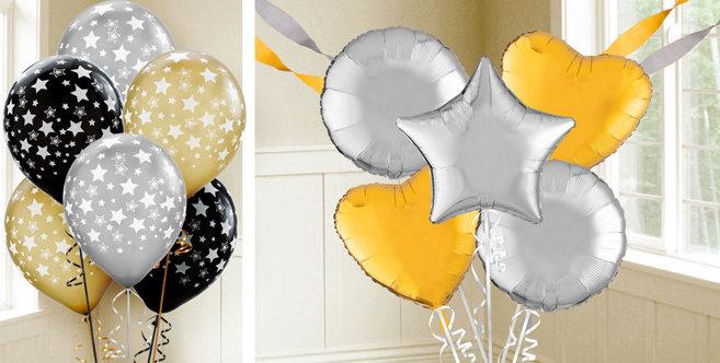 Metallic Balloons Party City Canada