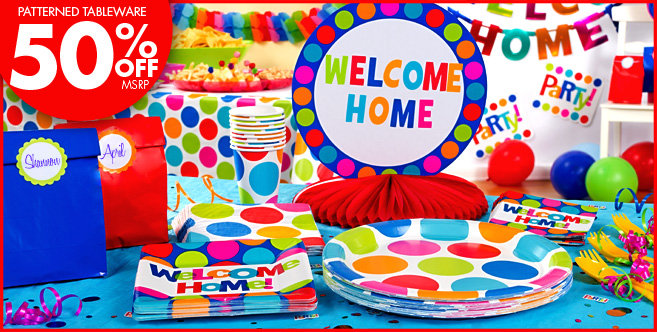 Decorations for welcome home party welcome home party for Welcome home decorations for baby