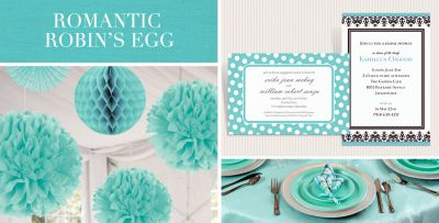 Robinu0027s Egg Blue Wedding Supplies