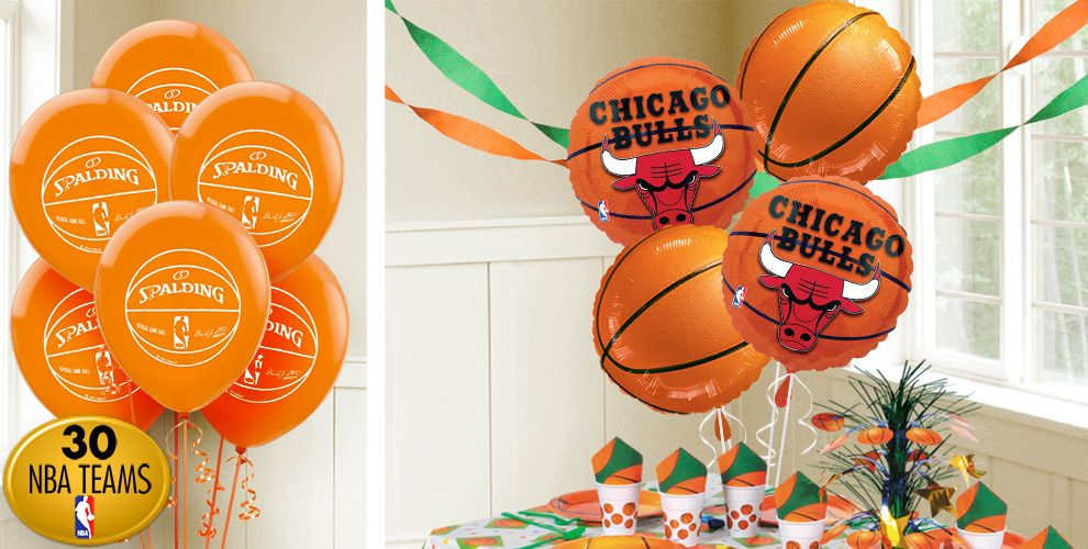 Basketball balloons party city for Basketball craft party ideas