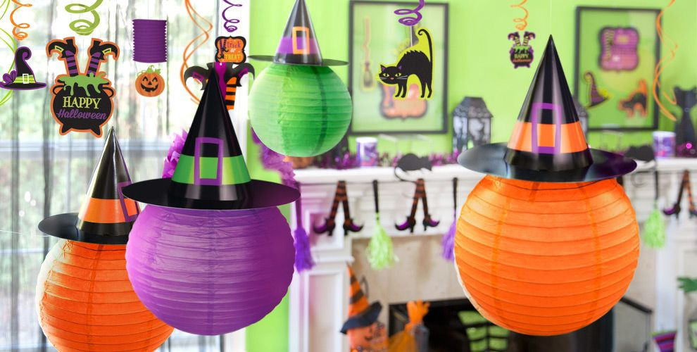 Cute halloween decorations diy - Hanging Halloween Decorations Party City