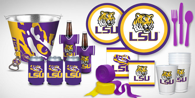 Lsu Tigers Party Supplies  Party City Canada. Decorator Designer Fabric. Decorative Garden Stepping Stones. Christmas Reindeer Decorations. Room For Rent Nashville. Fourth Of July Home Decorations. Baby Shower Baseball Theme Decorations. Swivel Glider Chairs Living Room. Small Decorative Cabinet