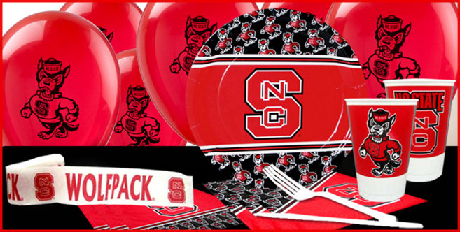 North Carolina State Wolfpack Party Supplies Party City