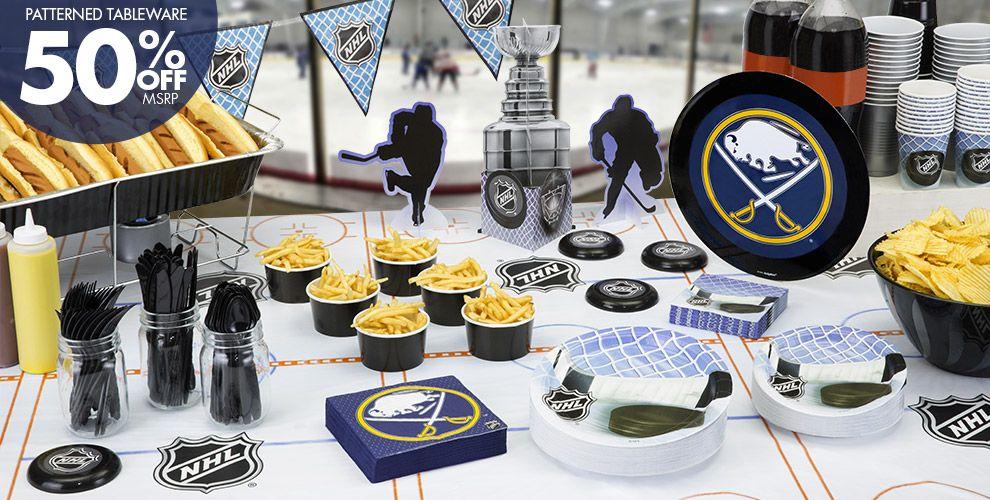 NHL Buffalo Sabres Party Supplies
