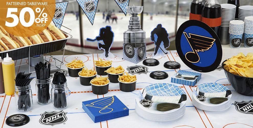 NHL St. Louis Blues Party Supplies