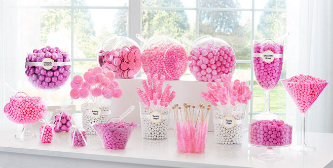 Bright Pink Wedding Supplies #3
