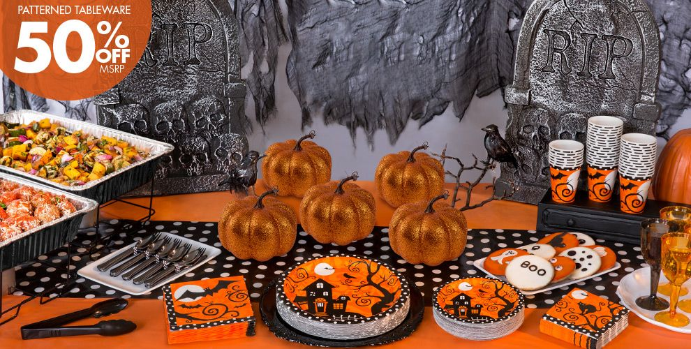 frightfully fancy halloween party supplies party city