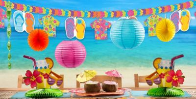 Beach Party Decorations Decorations for a Beach Party Party City